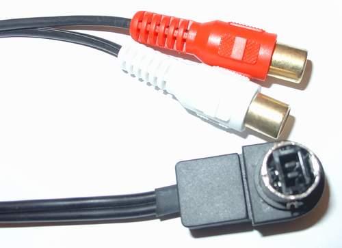 Линейный вход автомагнитолы AUX Alpine/JVC оптом за 200,00 руб. (AUX-переходники)